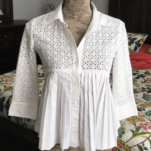 Anthropologie top size 0